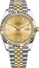 Datejust 41mm Steel and Yellow Gold