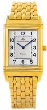 Reverso Mens 18K Yellow Gold Watch