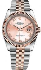 Datejust 36mm Steel and Everose Gold