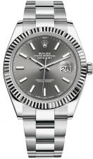Datejust 41 mm, Oystersteel and white gold