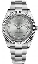 Datejust 41mm Steel and White Gold