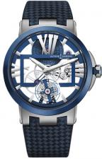 Executive Skeleton Tourbillon Blue