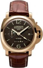 Luminor 1950 8 Days GMT Oro Rosso