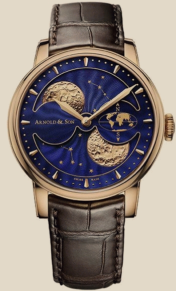 Royal Collection HM Double Hemisphere Perpetual Moon