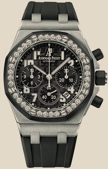 Ladies Royal Oak Offshore Chronograph