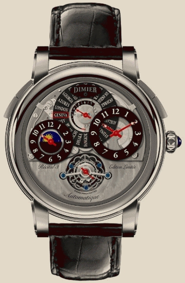 Dimier Recital 3 Limited Edition Tourbillon