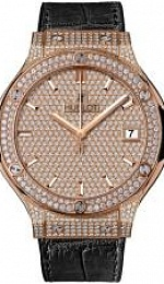 Classic Fusion King Gold Full Pave