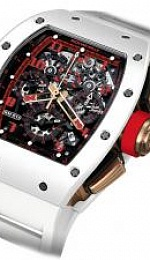 Watches Automatic Flyback Chronograph White Demon