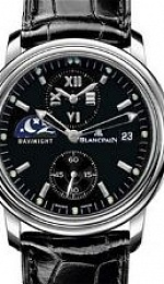 Leman Double Time Zone - GMT 38mm