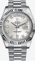 Oyster Day-Date II 41mm White Gold
