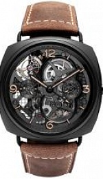 Radiomir LO SCIENZIATO - Radiomir Tourbillon GMT Ceramica - 48mm