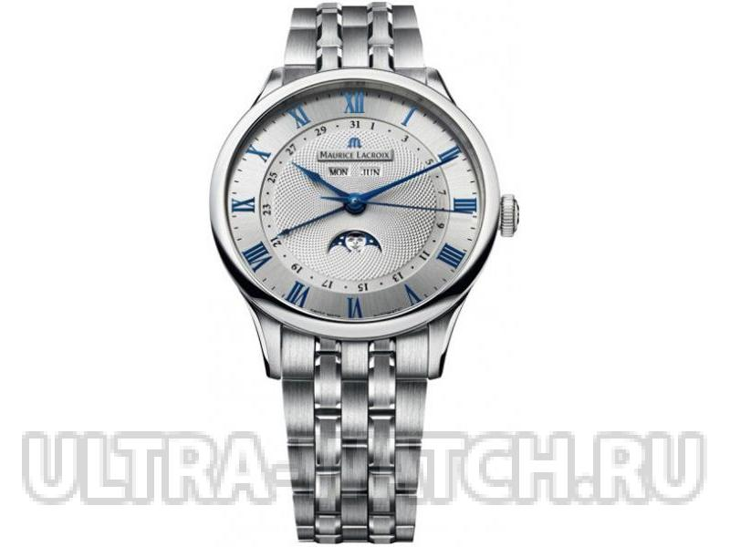 Masterpiece Phase de Lune Mens Wristwatch