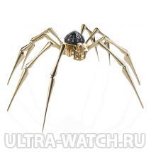 30 ARACHNOPHOBIA GOLD 18K YELLOW GOLD PLATED BRASS LIMITED EDITION