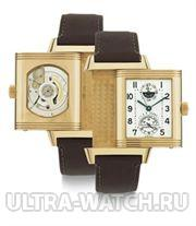 LIMITED EDITION 18K PINK GOLD AUTOMATIC DUAL TIME REVERSIBLE