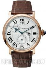ROTONDE DE CARTIER Small Complication 2 Time Zone Retrograde, Day & Night, Large Date, Small Second