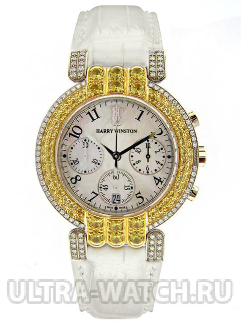 LADY CHRONOGRAPH DIAMOND & CANARY WHITE GOLD - SPEC. EDITION