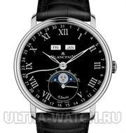 Villeret Moon Phase Complete Calendar '8 Jours' Limited Edition 75