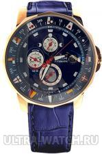 Admiral`s Cup Gold Automatic Chronograph Watch