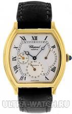 Classic Watch 18K Yellow Gold Silver Dial Power Reserve