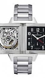 REVERSO SQUADRA HOMETIME automatique GMT
