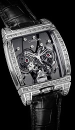Golden Tourbillon Panoramique Grey Sapphire