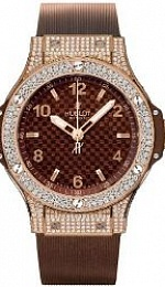 Cappuccino Red Gold Pave Diamonds